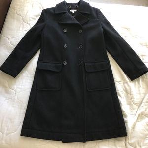 J.Crew Wool Full Length Long Peacoat Overcoat